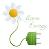Concetto verde di energia Fotografia Stock Libera da Diritti