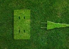 Concetto verde di energia Fotografie Stock Libere da Diritti