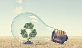 Concetto verde di energia Immagine Stock Libera da Diritti