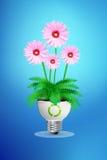 Concetto verde di energia di eco Fotografie Stock
