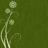 Concetto verde scuro del Riciclare-fiore Fotografia Stock Libera da Diritti