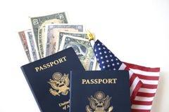 Concetto viaggio/di immigrazione Immagine Stock