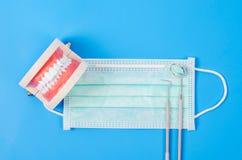 Concettuale di odontoiatria Fotografie Stock Libere da Diritti