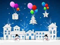 Concevez la carte de voeux de Noël, et le message de bonne année illustration libre de droits