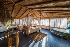 Concevez la pièce dans la côte péruvienne Piura Pérou Photographie stock libre de droits