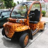 Concevez la voiture en fonction du client électrique de la GEMME E2 à St Barths Photo libre de droits