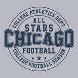 Concevez toute l'étoile Chicago Images stock