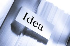 Concezione di idea Fotografie Stock Libere da Diritti