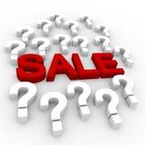 Concezione di vendite Immagini Stock