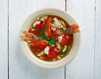 Conch America soup Royalty Free Stock Image