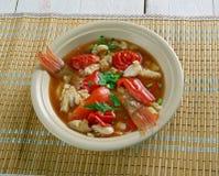 Conch America soup Stock Image