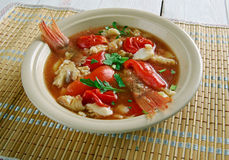 Conch America soup Stock Photo