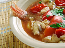 Conch America soup Royalty Free Stock Images