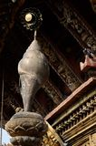 Conch,temple detail - one of eight buddhist sacred symbols Royalty Free Stock Photos