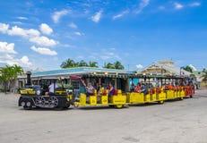 Conch Tour Train, Key West, Florida Stock Photography