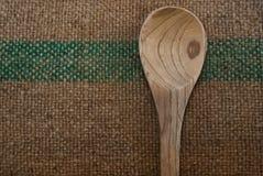 Concha de madeira Imagem de Stock