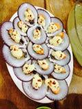 Concha de peregrino deliciosa Foto de archivo libre de regalías