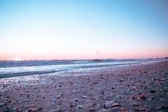 Conchas marinas cerca de la bahía Fotografía de archivo libre de regalías