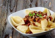 Conchiglie Giganti Pasta Royalty Free Stock Photo