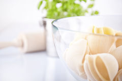 Conchiglie pasta Royalty Free Stock Photos