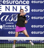 Conchita Martínez at Harbor Point  Tournament. Conchita Martínez at Harbor Point Esurance Tennis Charity Event Royalty Free Stock Photo