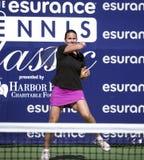 Conchita Martínez at Harbor Point  Tournament Royalty Free Stock Photo
