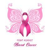 Conciencia del cáncer de pecho ilustración del vector