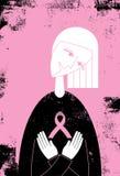 Conciencia del cáncer de pecho Fotografía de archivo