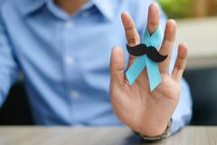 Conciencia del cáncer de próstata imagen de archivo