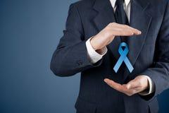 Conciencia del cáncer de próstata Fotografía de archivo libre de regalías