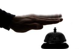 Concierge Bell d'hôtel photographie stock