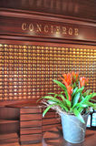 Concierge desk Royalty Free Stock Photo