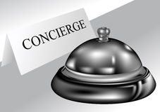 Concierge Stock Image