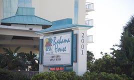 Bahama House Sign, Daytona Beach Florida