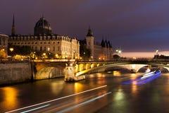 Conciergerie在巴黎 图库摄影