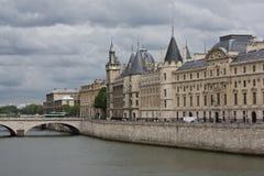 conciergerie巴黎 免版税库存图片