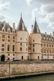 Conciergerie Średniowieczny pałac królewski obrazy royalty free