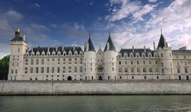 Conciergerie. The Conciergerie, a former royal palace and prison in Paris, France stock photo