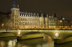 Conciergerie building at Paris, France Royalty Free Stock Photo