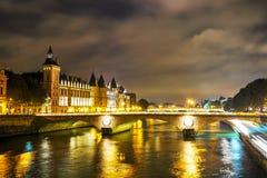 The Conciergerie building in Paris, France Stock Photo