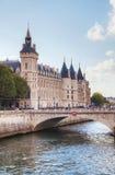 The Conciergerie building in Paris, France Stock Images