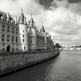 Conciergerie castle in Paris, France Stock Image