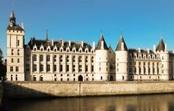 The Conciergerie castle ,Paris, France. stock images