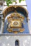 Conciergerie Clock oldest clock in Paris, France royalty free stock images