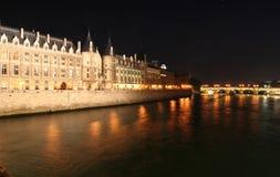 Conciergerie en París Imágenes de archivo libres de regalías
