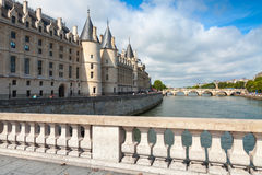Conciergerie is a former royal palace and prison in Paris Stock Images