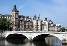 Conciergerie, Ile de la Cite, Paris Stockfotos