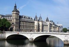 Conciergerie, Ile de la Cite, Paris stockfotos