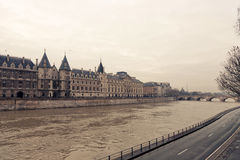 Conciergerie museum. In winter day Stock Images