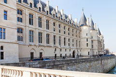 Conciergerie palace in Paris Royalty Free Stock Images